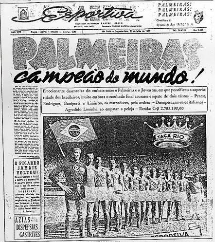 Entenda como mundial vencido pelo Palmeiras deu origem à