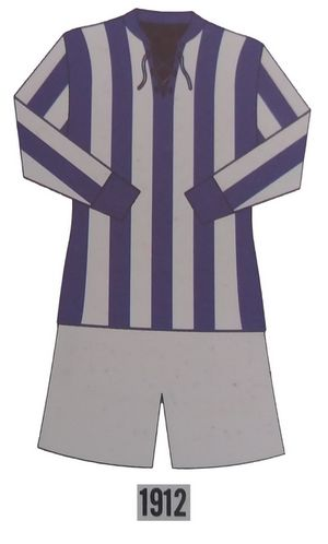 Germânia Football Club uniforme de 1912