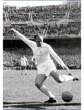 Di Stéfano no Real Madrid
